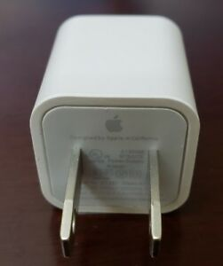 1 NEW Apple iPhone USB Power Wall Cube OEM Charger Adapter Block Buy 2Get1 A1385