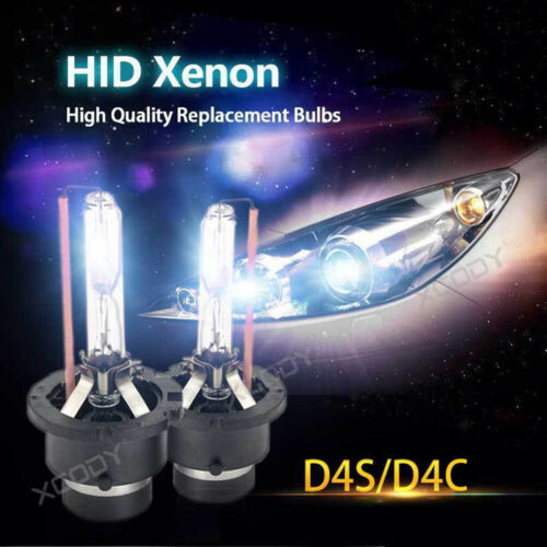 2x D1S D2S D3S D4S 35W HID Xenon Headlight Light Conversion Kit 3000K~12000K