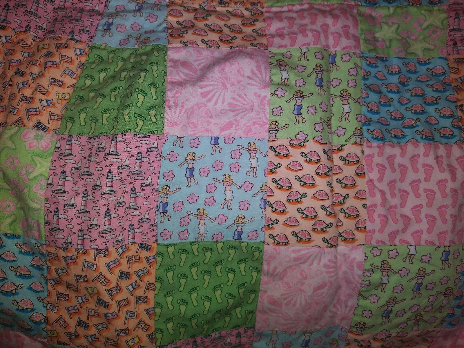 Vineyard Vines Quilted Multi Pattern  colorful Skirt Sz 4 Cute