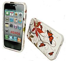DESIGN No.1 SILIKON TPU COVER CASE HANDY HÜLLE  für APPLE iPHONE 4G - 4Gs