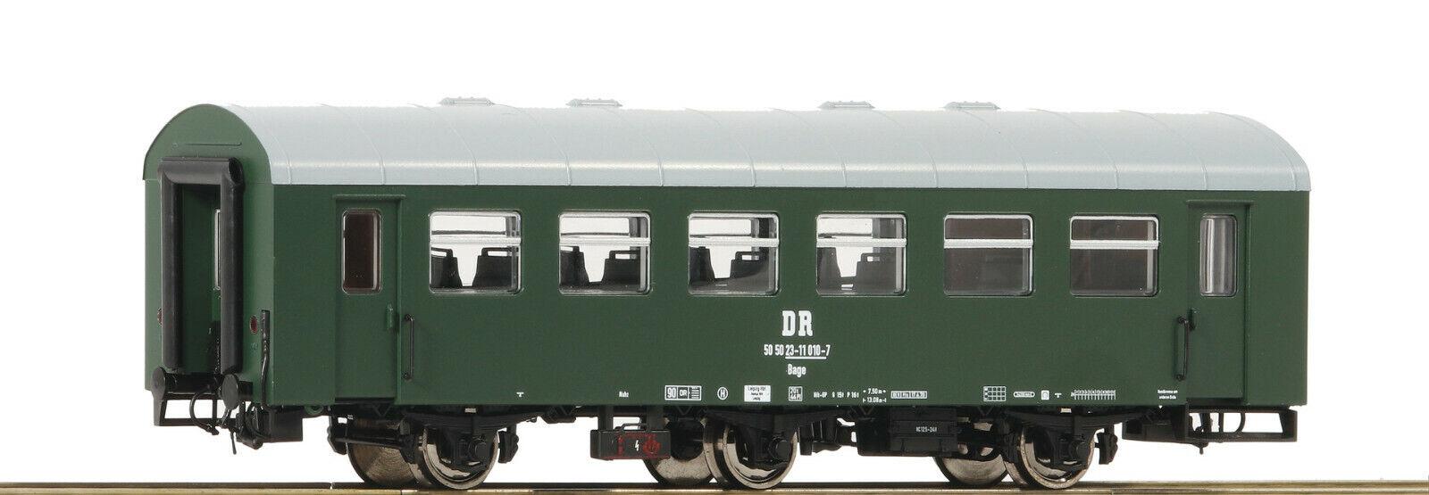 ROCO 74450rekowagen Zero serie, Dr della RDT, Epoca IV, traccia h0, NUOVO & OVP
