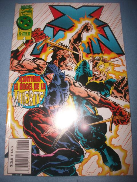 X-MEN Nº 4 CONTRA EL ANGEL DE LA MUERTE   ESTADO NUEVO
