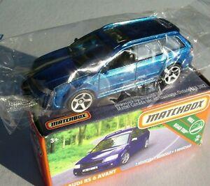 Metalflake-Blue-2-039-02-Audi-RS-6-Avant-Matchbox-2019-16-100-GCH93-New-in-Box