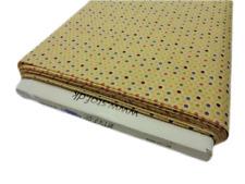 FQ Spot Fabric blue red green yellow pink Cotton craft dot multi per 1//4 metre