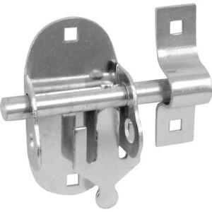 Sonderangebot-Oval-Pad-Bolzen-Tuer-Tor-Schlossfalle-BZP-Verzinkter-Stahl-Box-25