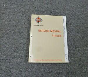 2011 2012 International Prostar Premium Truck Electrical Wiring Diagrams Manual Ebay