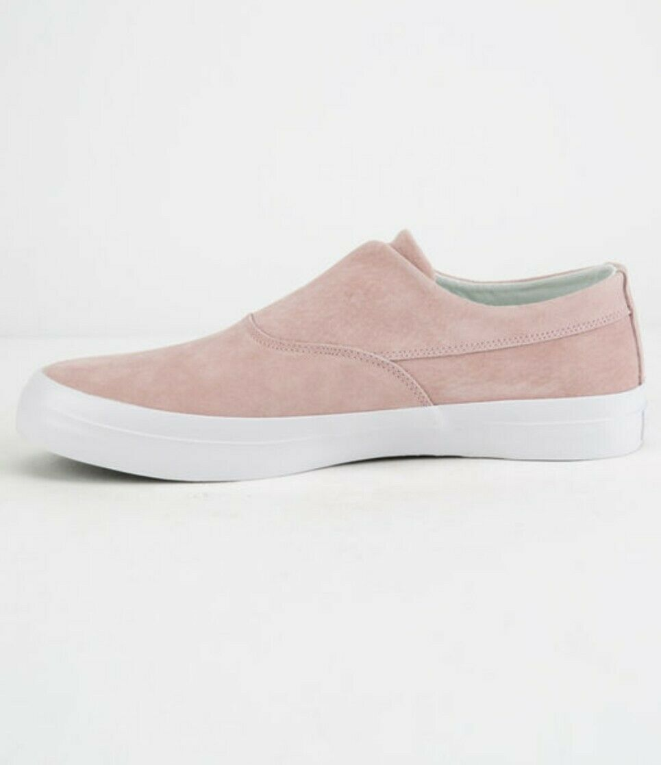 Brand nouveau Hommes HUF DYLAN Rose à Enfiler Chaussures Taille 11 USA