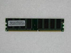1GB MEMORY FOR COMPAQ PRESARIO SR1638NX SR1647IT SR1649IT SR1667IT SR1669IT