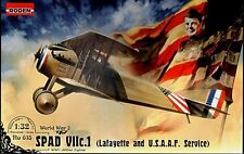 SPAD S VII C1 (LAFAYETTE & AMERICAN EXPEDITIONARY FORCE MKGS) 1/32 RODEN RARE