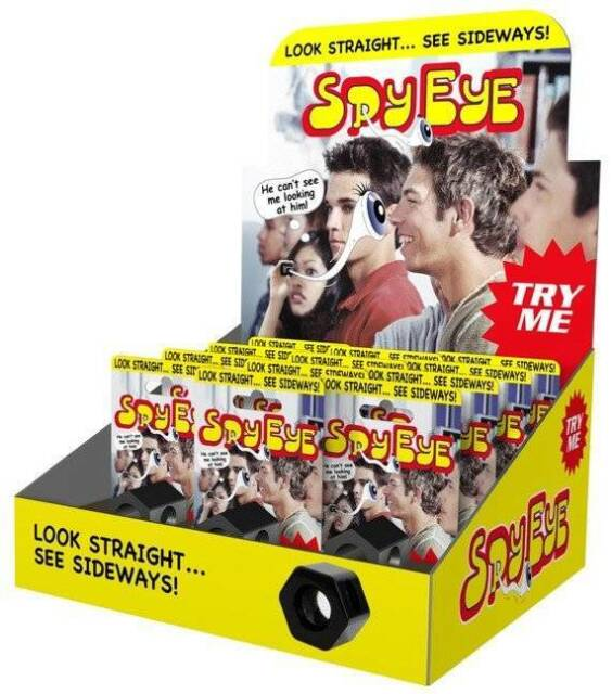 SPY EYE~ Look straight-See sideways! JAMES BOND~007-Very cool-Great 4 all ages..