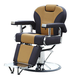 Image is loading All-Purpose-Hydraulic-Recline-Barber-Chair-Salon-Beauty-  sc 1 st  eBay & All Purpose Hydraulic Recline Barber Chair Salon Beauty Spa Shampoo ...