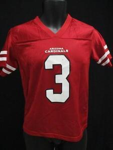 New-Minor-Flaw-Carson-Palmer-Arizona-Cardinals-Youth-Size-M-Medium-10-12-Jersey