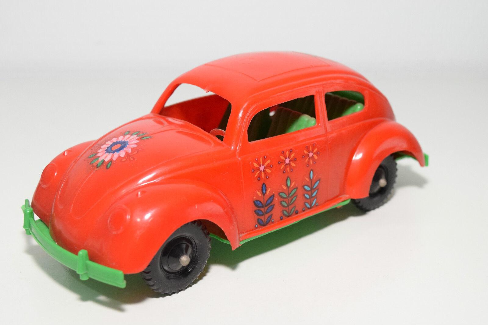 USA OR GERMANY PLASTIC PLASTIK VW VOLKSWAGEN BEETLE KAFER FLOWER POWER NEAR MINT