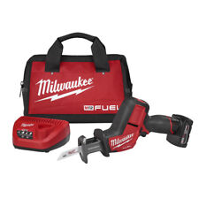 Milwaukee M12 FUEL HACKZALL Reciprocating Saw Kit 2520-21XC New