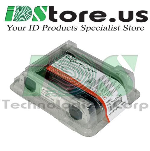 Primacy /& 200 Blank PVC Cards Evolis R5F002AAA YMCKO Color Ribbon for Zenius