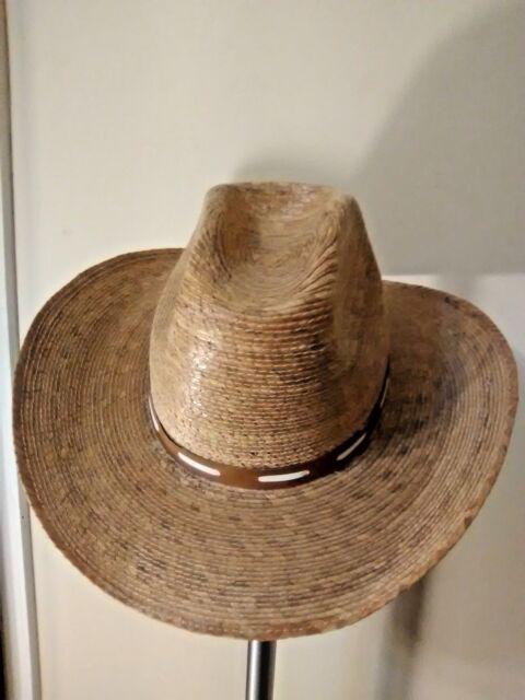 e275b8fca07b7 Vintage Sahuayo Legitimo Straw Western Cowboy Hat