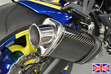 Kawasaki Z1000SX 10-16 SP Engineering Carbon Tri-Oval Big Bore Stubby Exhausts