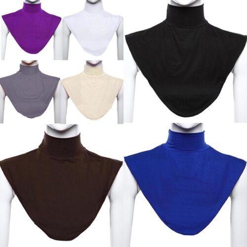 Damen Krageneinsatz Abnehmbare Kragen Schmuck Muslim  Hijab  Erweiterungen Hot