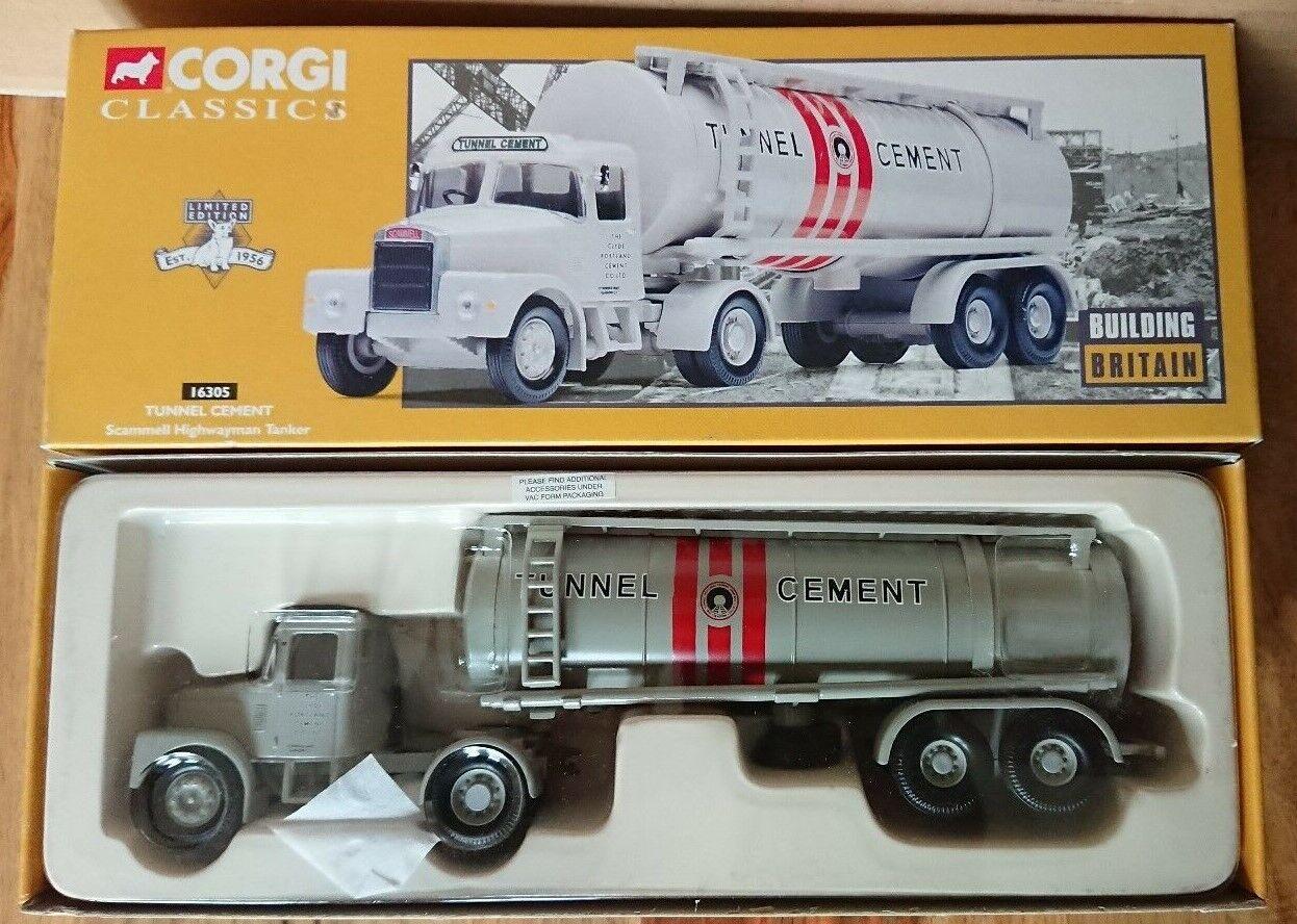 Corgi 16305 Scammell Highwayman Tanker Tunnel CeSiet Ltd Edit. No.0001 of 4200