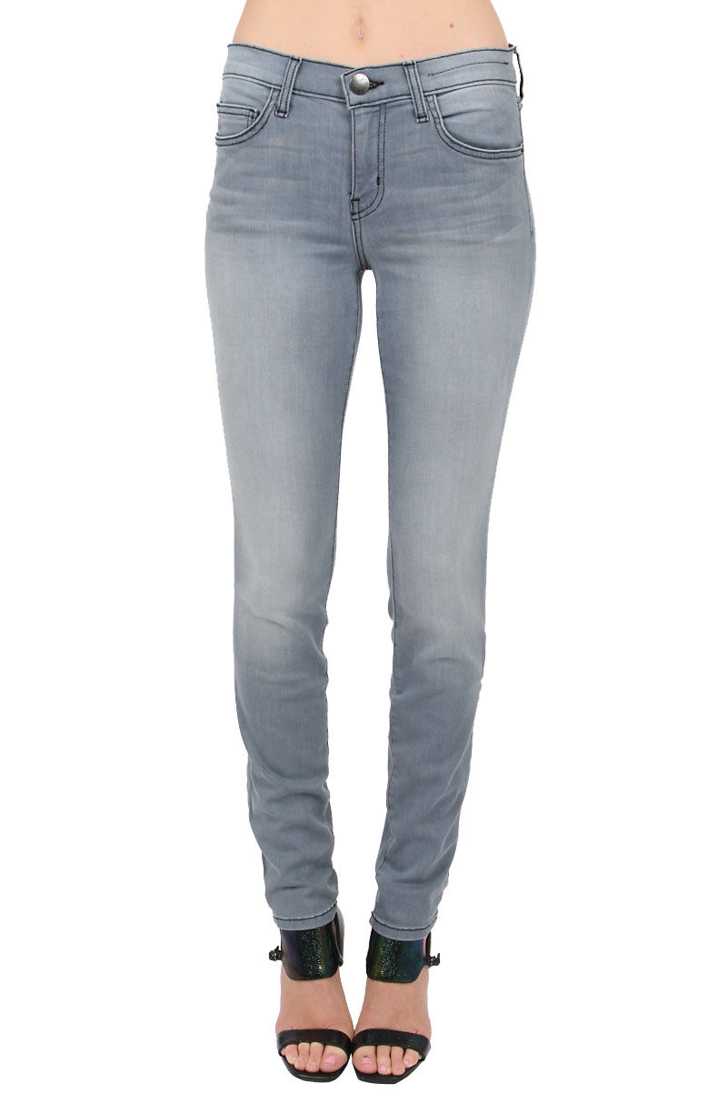 Current Elliott Womens The Ankle Skinny Jeans - Briggs (bluee Grey) Size 27 NWD