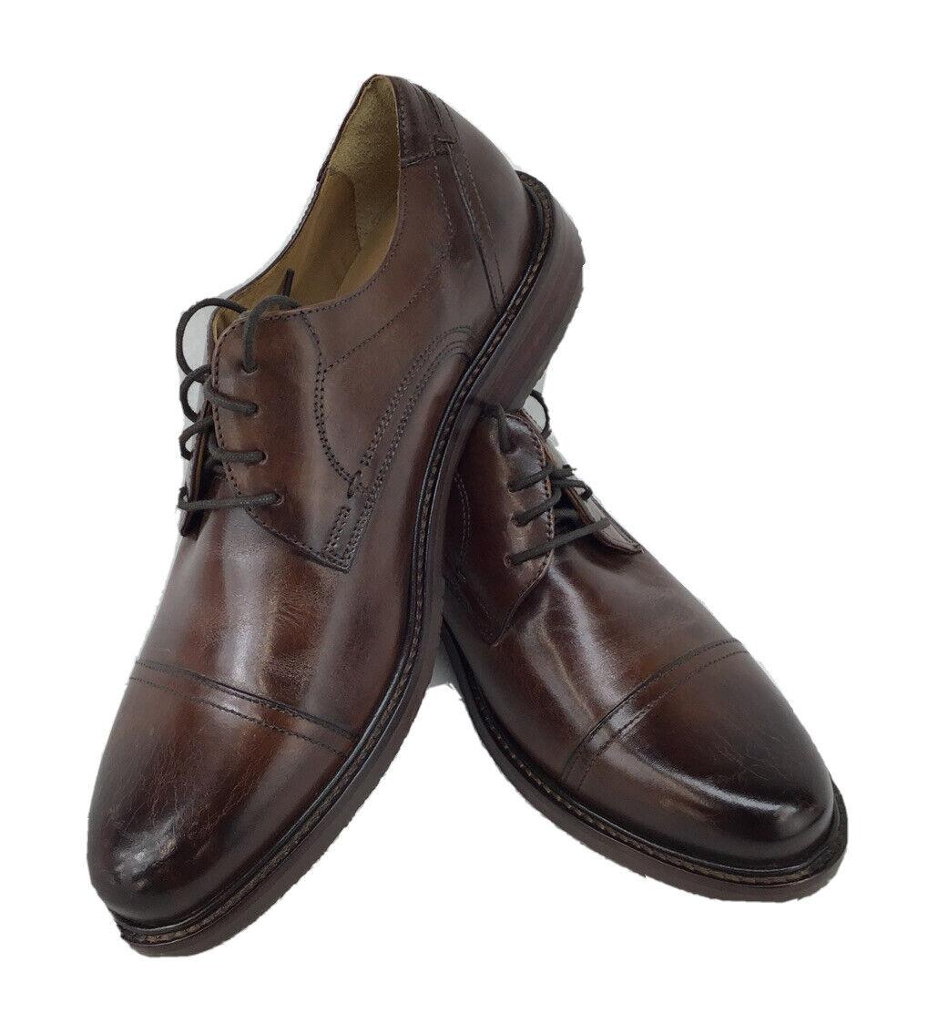 Mens Johnston&Murphy Cap Toe Dress Shoes Size9.5M N1131