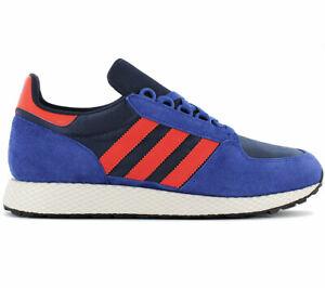 emparedado champú joyería  adidas Originals Forest Grove Herren Sneaker B38002 Blau Schuhe Retro  Turnschuhe | eBay