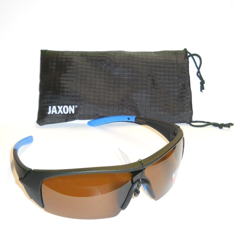 Jaxon Polarisationsbrille mit blue AK-OKX24AM browne Gläser Polbrille Brille