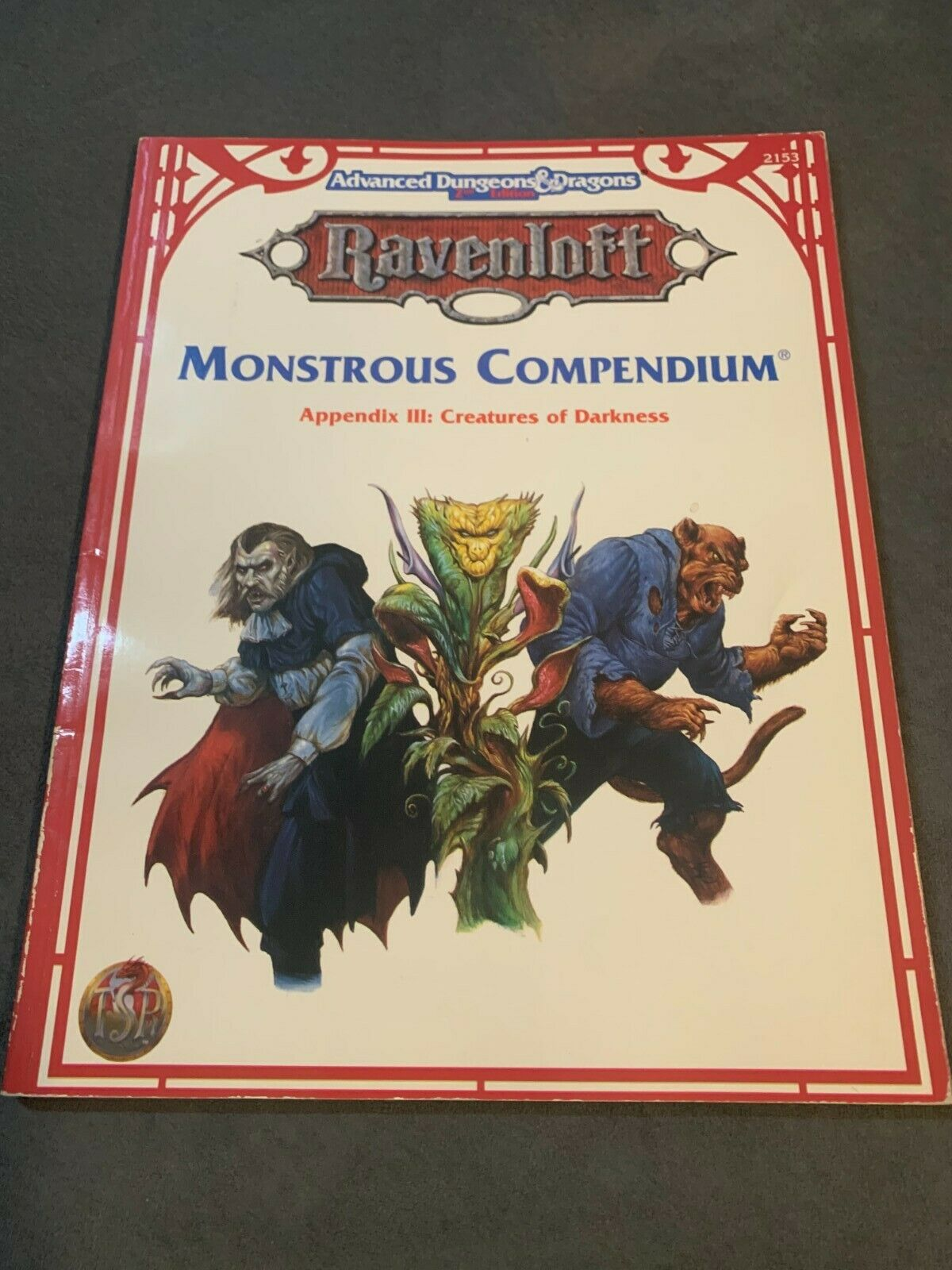 MC15 Monstrous Compendium Ravenloft Appendix II AD/&D TSR Dungeons /& Dragons