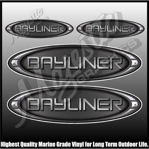 BAYLINER BOAT DECALS Set of 4 DECALS