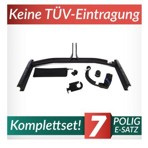 Anhängerkupplung abnehmbar+E-Satz 7p Audi A4 B7 Avant 04-08 auch Quattro Kpl