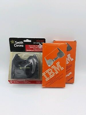 Smith Corona 240DLE 2PK Ribbon and 1PK Correction Tape Cassette Free Shipping