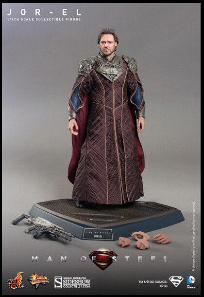 Superman Man Of Steel Figura de 12 pulgadas Acton escala 1 6 - Jor-el Hot Toys