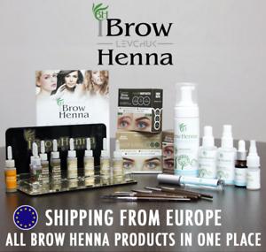 BrowXenna ® Henna Colorazione Permanente Per Sopracciglia prodotti: le tinte, imbianchini, Spazzole