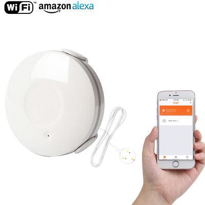 Lopbinte Smartlife APP WiFi Water Sensor Water Leak Detector Alarm Home Control IP67 Works with Tuyasmart//Smart Life APP Easy Installation