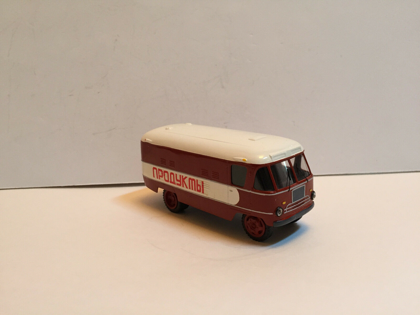 1 43 RUSSIAN BUS GZTM-56  FOOD DELIVERY    1958