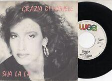 GRAZIA DI MICHELE raro disco 45 giri SHA LA LA  made in ITALY