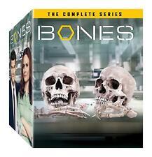 Bones The Complete Series 67 Dics DVD Set Season 1-12 Value Gift Box Set-NEW