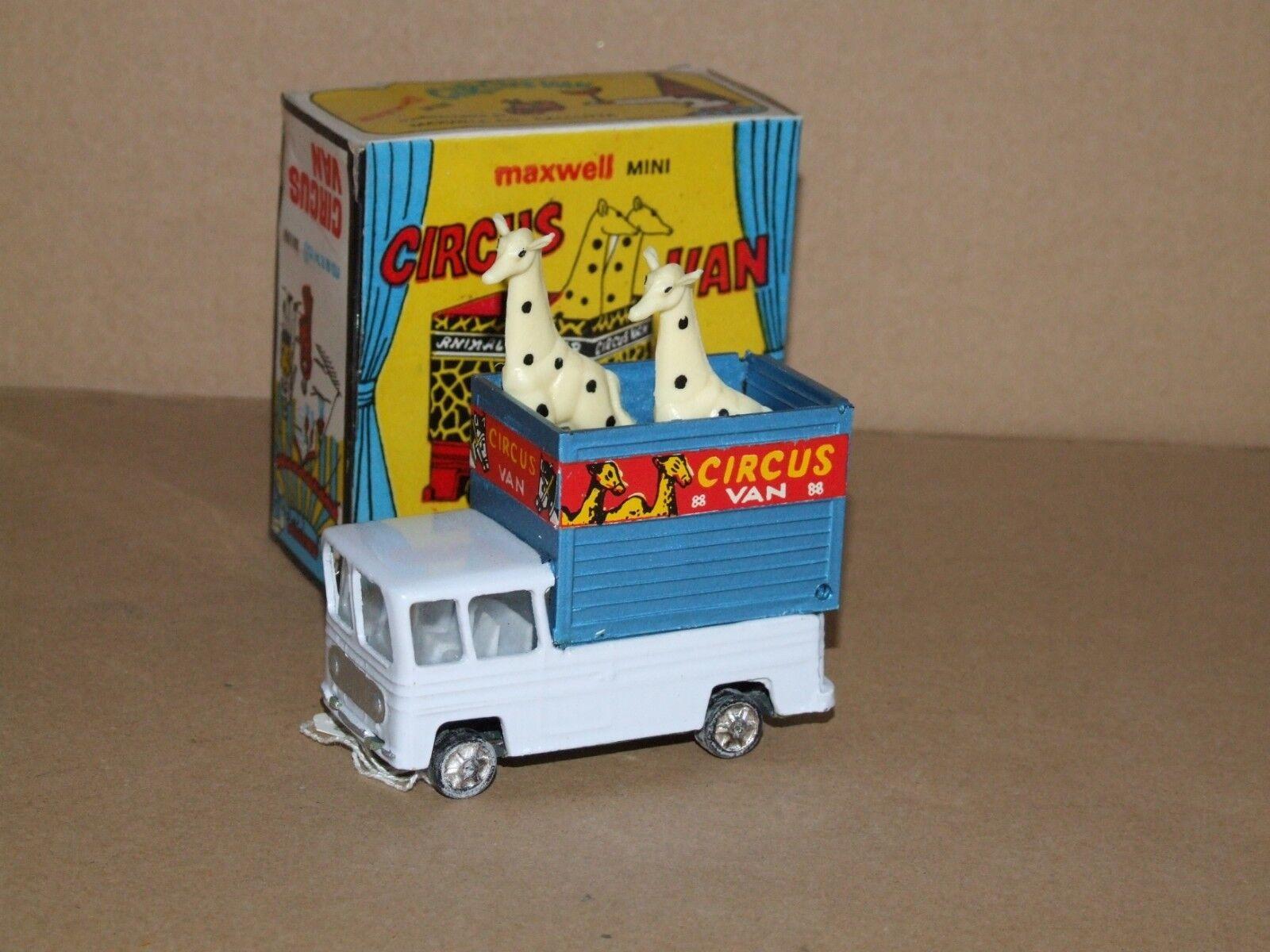 Maxwell mini (India) 536 Circus Van Giraffa TRANSPORTER
