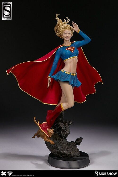1 4 Premium Format Supergirl Sideshow Collectibles Exclusive 3002641