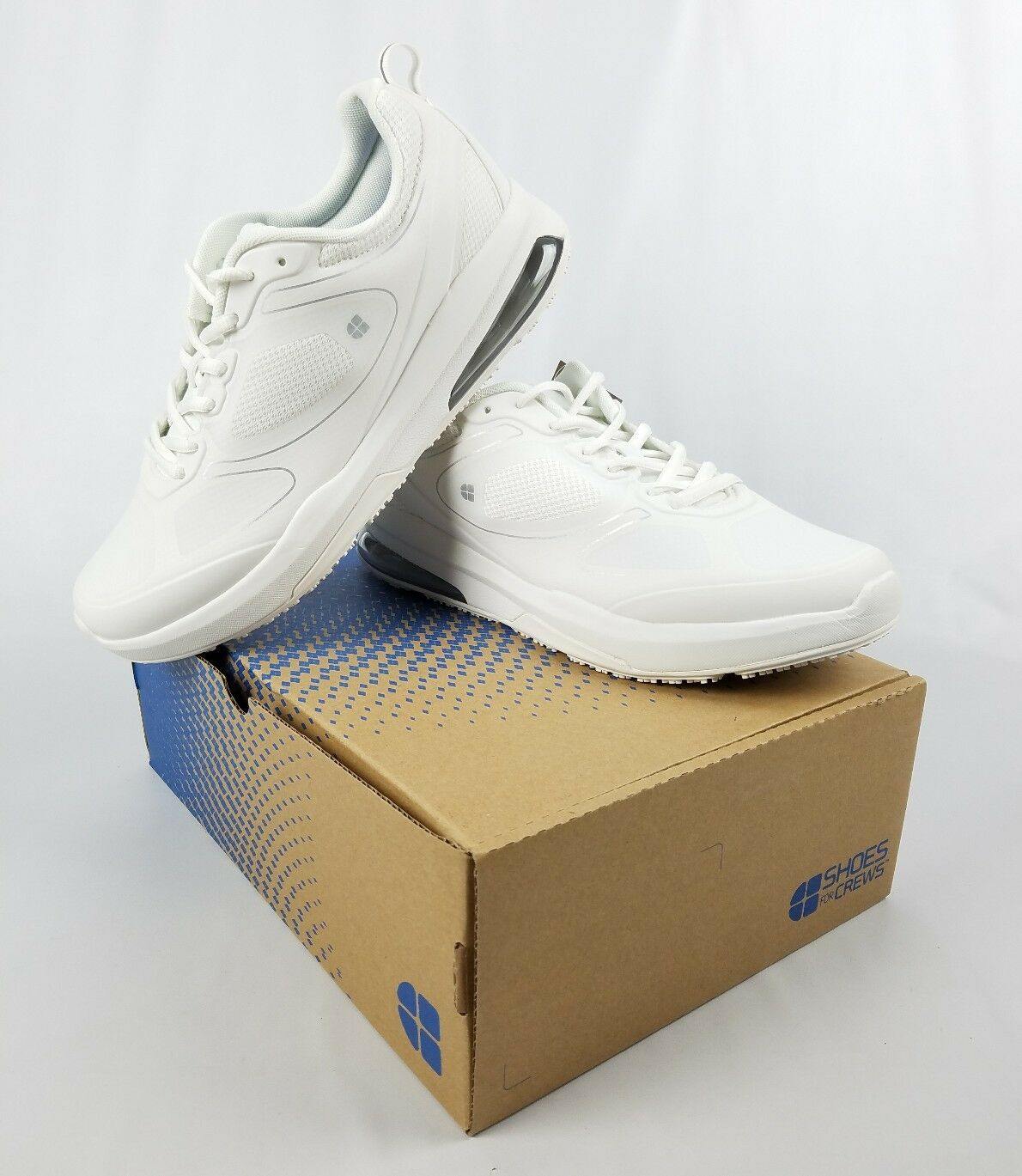 shoes For Crews Revolution II White Slip & & & Oil Resistance Womens NIB Size 10 f428c2