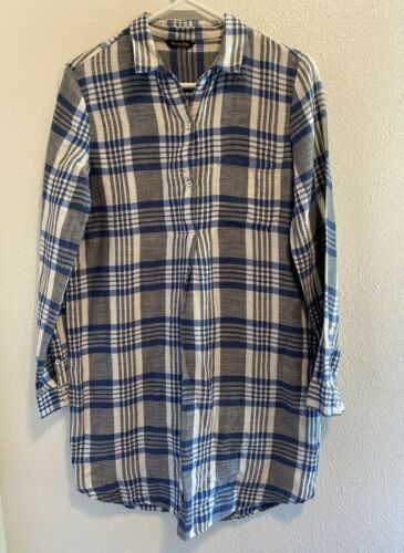 Massimo Dutti  XS Long Sleeve 1/2 Button Up Popove