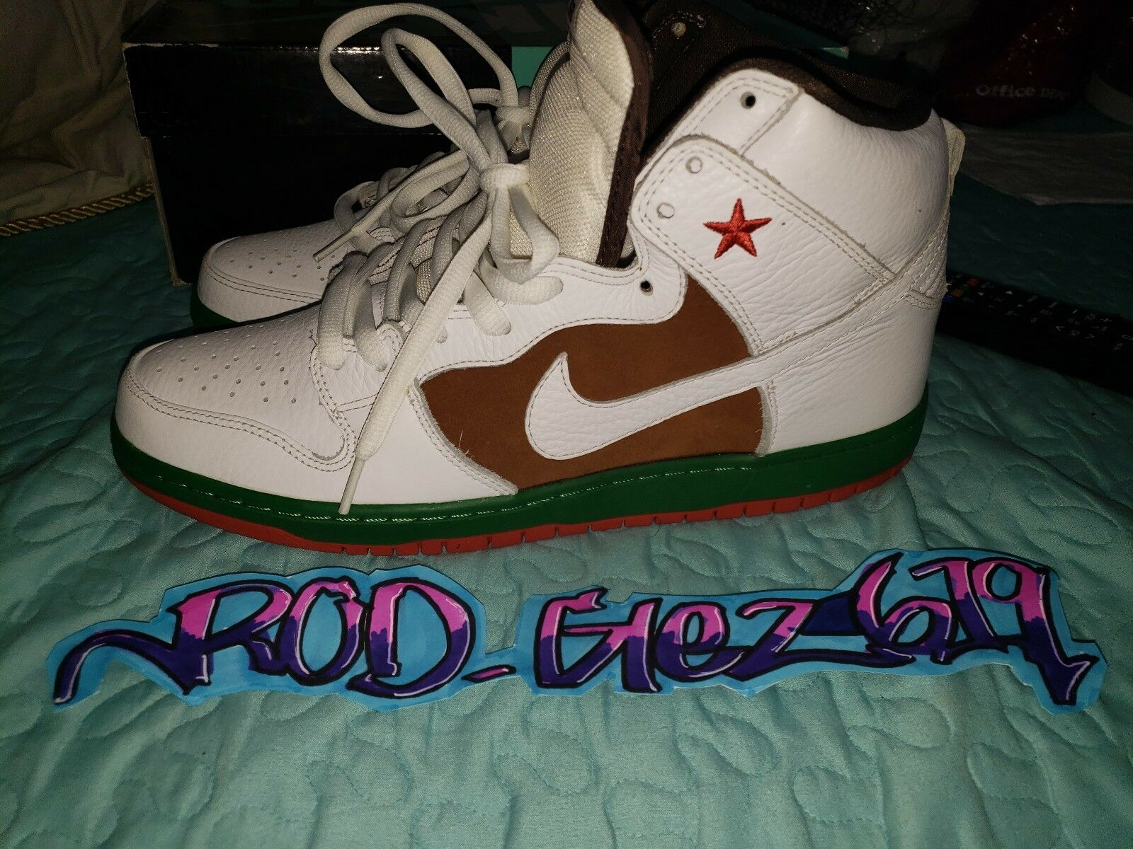 Nike Sb High - Cali - Size 12 tried on pads