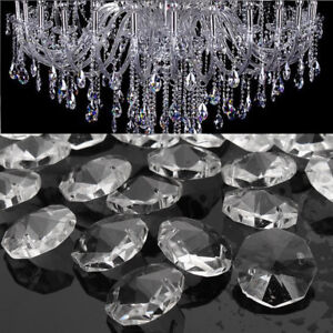 50pcs-Clear-Glass-Crystals-Chandelier-18MM-Drops-Hanging-Parts-Prisms-Lamp