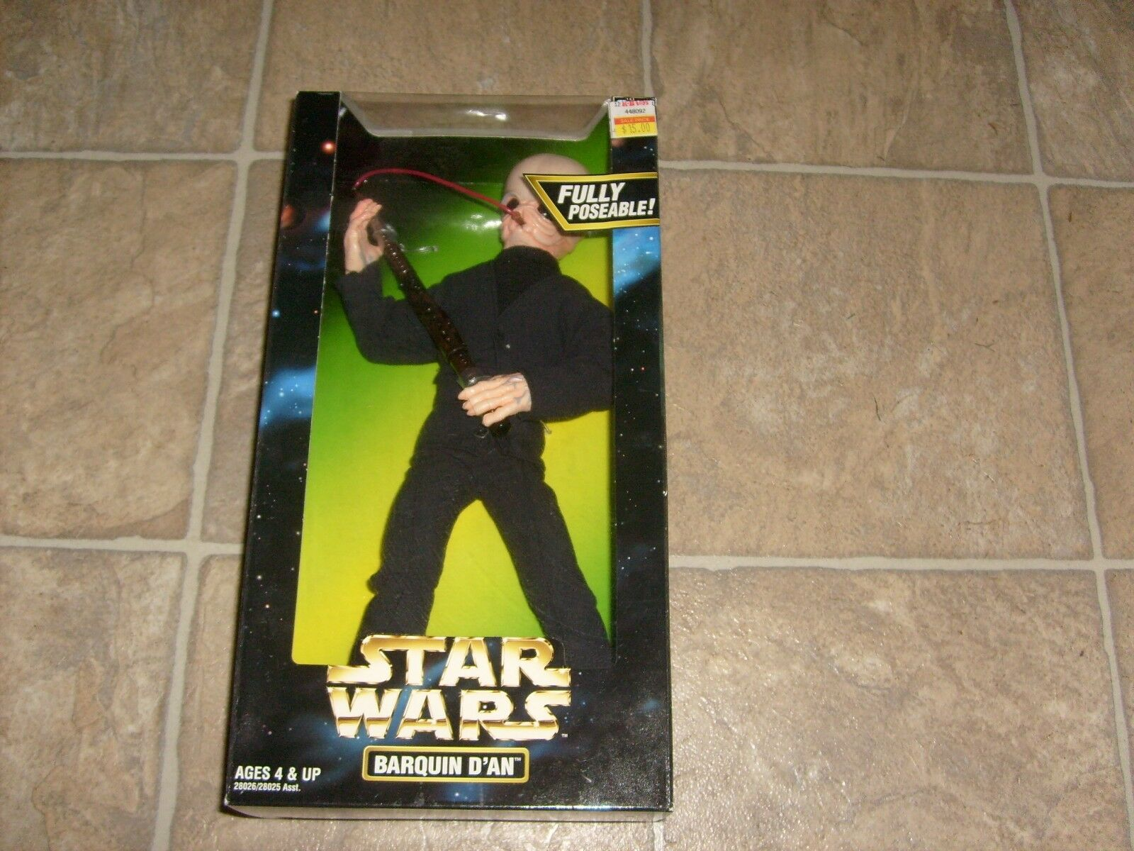 2 STAR WARS BARQUIN & FIGRIN D'AN 12  CANTINA FIGURE NEW MISB HOT MOVIE 1 6 TOY