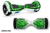 Skin Decal Wrap For Hover Board Self Balancing Scooter Swagway X1 Sticker Zbra