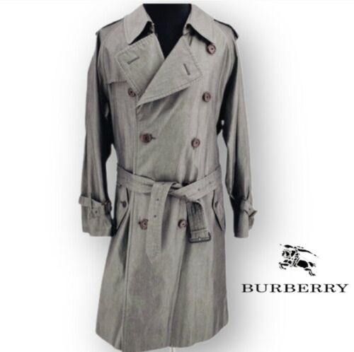 Burberry Men's Double Breasted Trench Coat