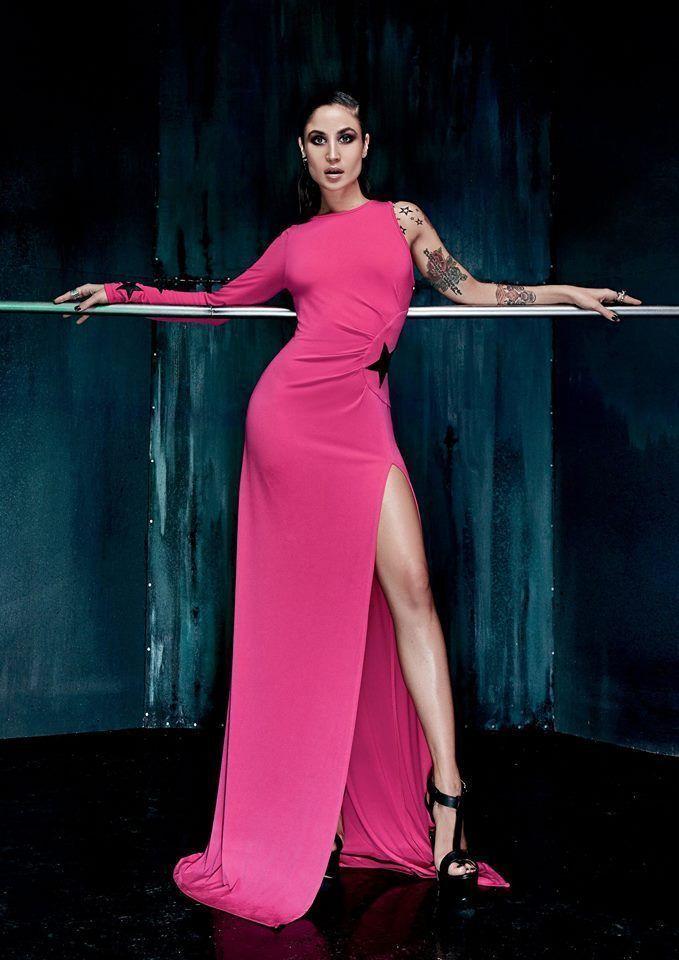 DENNY rosa ABITO vestito art. 52dr12013 colore FUXIA FUXIA FUXIA taglia 48 b68686
