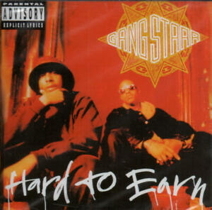 Gang Starr - Hard To Earn (CD-Album Chrysalis 7243 8 28435 2 8) 1994 Neu & OVP