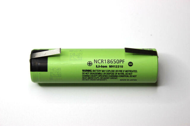 Panasonic NCR 18650 PF 2900 mAh 3.6V Li-Ion Battery with TABS