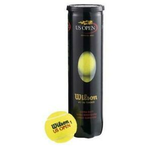 Wilson US Open Roger Federer Tennis Balls 4 Ball Can T1162